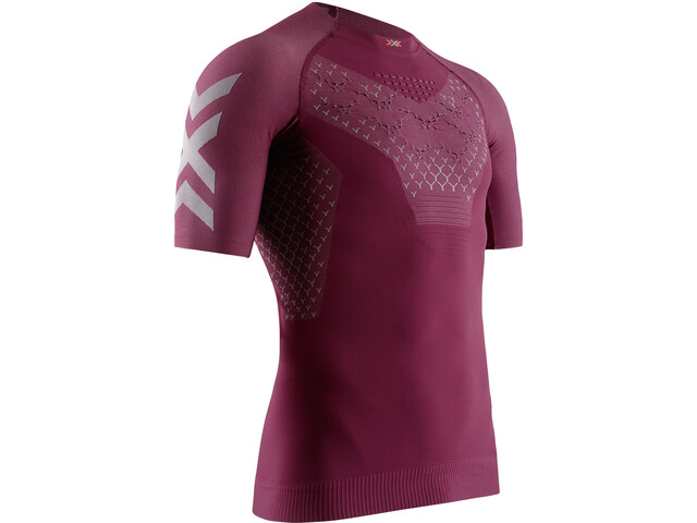 X-Bionic Twyce G2 Hardloop T-shirt Heren, namib red/dolomite grey